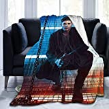 Jingliwang Super Sam Winchester Natural Jensen Ackles Dean Winchester Misha Collins Super Soft Blanket, Light Plush Bed Blanket, Suitable for Adults and Children to Use 60' x50
