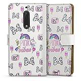 DeinDesign Étui Compatible avec Nokia 5 Étui Folio Étui magnétique Minnie Mouse Produit sous...