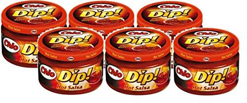 Chio Dip! Hot Salsa 6 x 200ml Glas