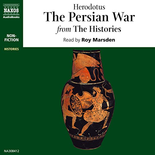 The Persian War from The Histories audiobook cover art