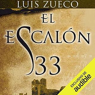 El escalón 33 audiobook cover art