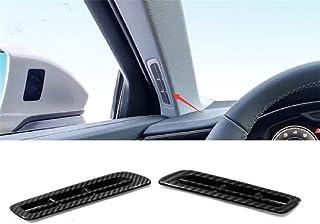 Wcnsxs Aria condizionata Presa CA Coperchio di sfiato Accessori di Rivestimento Interni per Audi A6 C8 2019 2020 Look in Fibra di Carbonio