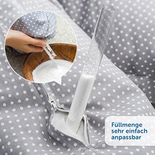 Theraline - Coussin d'Allaitement et de Grossesse - Dodo Pillow Premium 180 cm...