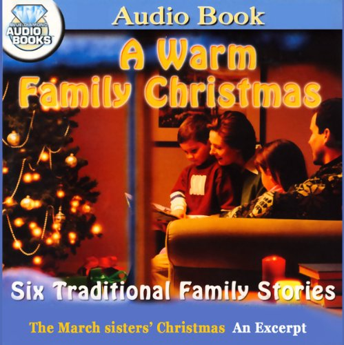 The March Sisters' Christmas audiobook cover art