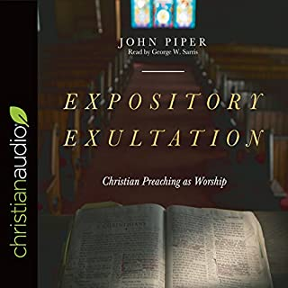 Expository Exultation audiobook cover art