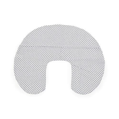 Niimo Funda de Almohada de Lactancia Removible y Lavable 100% algodón (Pez Azul)