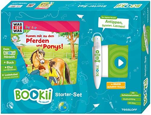 BOOKii® Starter-Set was IST was Junior Komm mit zu den Pferden und Ponys Hörstift mit Aufnahmefunktion Junior Buch Komm mit zu den Pferden und Ponys!
