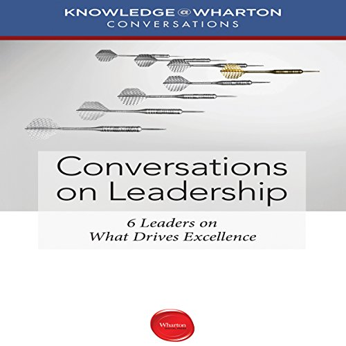 Conversations on Leadership audiobook cover art