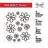 4R Quattroerre.it 32103 Adesivo Stickers Fiori Margherite, 14 x 16 cm