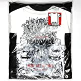 L AKIRA ART OF WALL READYMADE 3 PACK T T-SHIRTS Tシャツ Lサイズ Tee ホワイト 白 アキラ 大友克洋 河村康輔 渋谷 PARCO
