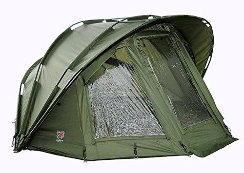 Ehmanns PRO-ZONE Coach III - 2 Mann Zelt Karpfenzelt Mit 20.000mm Wassersäule Brolly Fishing Tent