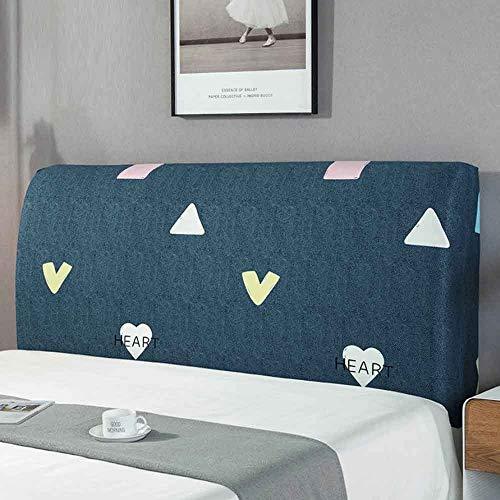 ZHICHENG Cabecero Cover-Cubierta para Cabecero De Cama,Tela,Protector Cubierto Elástica Funda para Cabecero para La Decoración del Dormitorio (Color : Color 8, Size : 150cm)