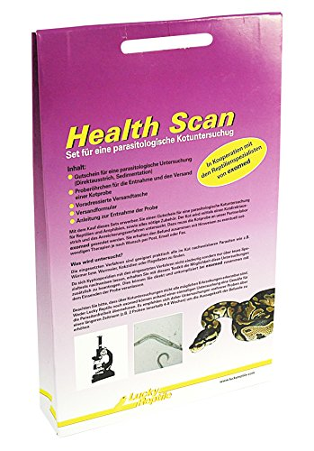 Lucky Reptile HES-1 Health Scan, Parasitentest