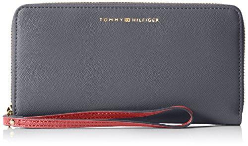 Tommy Hilfiger TH Twist Large ZA Wallet Saffiano, Portafoglio Donna, 19x10x2 cm (B x H x T)