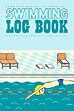Swimming Log Book: Track Warm Up,Sets And Cool Down Reps Intervals Distance