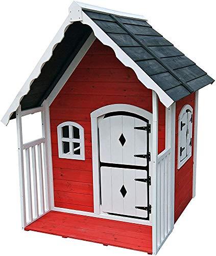 Juego de madera Vivienda Habitación infantil Kindergarten Outdoor Wood juego Casa para jugar Instalaciones,115 x 125 x 140cm