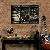 Póster horizontal de Dj It'S Not A Phase para regalo de pared, póster decorativo para el hogar, decoración musical, estudio de música, regalo divertido de metal, 20,3 x 30,5 cm