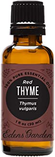 Edens Garden Red Thyme Essential Oil, 100% Pure Therapeutic Grade, 30 ml