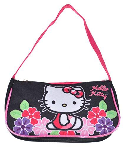 Hello Kitty , Kinder Kinderhandtasche Gr. Einheitsgröße, Schwarz - Schwarz