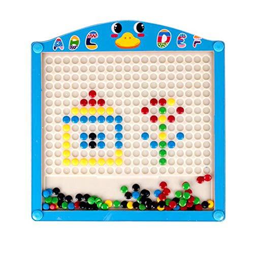 YUMEIGE Magnetisch speelgoed & speelborden Magnetisch tekenbord, hout, rond en glad, Games Toys for Kids, Graffiti Board/Creative Puzzel, Kids' Tekenen & Schrijven Boards, dan 18 maanden gebruik, Ed