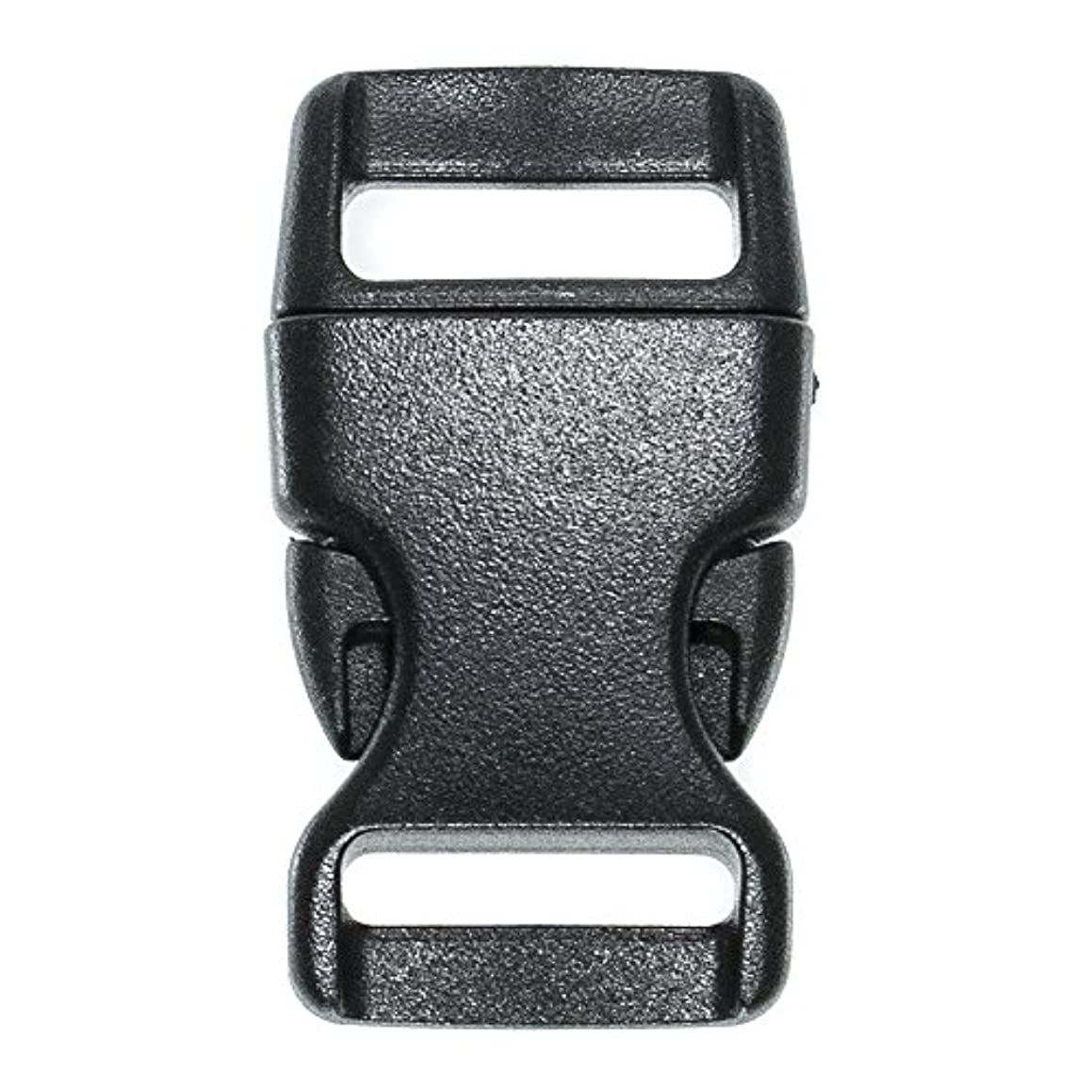 PARACORD PLANET Brand Contoured Side Release Black Buckle – Multiple Size and Quantity