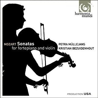 Mozart: Sonatas for fortepiano & violin K454, 379, 296 by Petra Mullejans (2009-03-10)