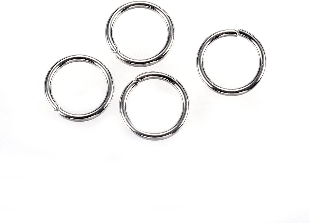 UNICRAFTALE Genuine Free Shipping 1000pcs Stainless Raleigh Mall Steel Close Unsoldered Jump but Ri