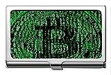 Titular de la tarjeta de nombre comercial Acero inoxidable 304, dinero Moneda de Bitcoin Titular de la tarjeta de presentación Monedero Estuche de identificación de la tarjeta de crédito
