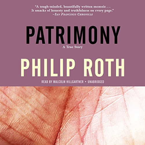 Patrimony audiobook cover art