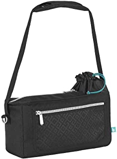 Babymoov Premium Universal Stroller Organizer | XL Storage, Full Zip Closure, Insulated Cup Holder and Smart Phone/iPhone Pouch