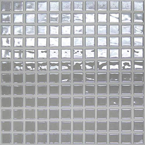e-ceramica 8436028842797 Mosaico Cristal Gris