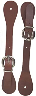 Billy Cook Saddlery Harness Leather Spur Straps Adult Size Made in USA