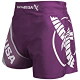 Hayabusa Kickboxing Shorts - Purple, 36