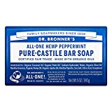 Dr. Bronners Bar Peppermint 140 gram (Seife)