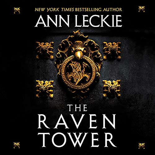 The Raven Tower audiobook cover art