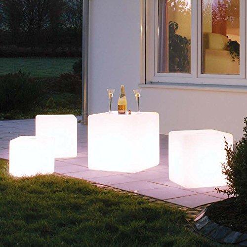 Cube Bright 40 x 40 x 40 cm LED multicolore avec câble