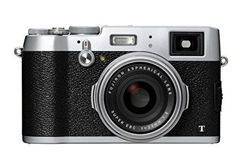 Fujifilm X100T - Cámara compacta de 16.3 MP (Sensor X-Trans CMOS II, procesador EXR II, Pantalla de 3
