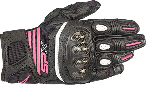 Alpinestars Stella SP X Air Carbon V2 Gloves Black Fucsia, M