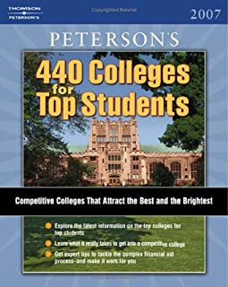 Peterson's 440 Colleges for Top Students 2007