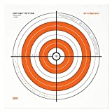 Perfect Strike Shooting Targets. Orange OPS No. 001 Heavy Paper Targets. Great for Practice Outdoors or at The Range. (12' x 12') (12 Targets)
