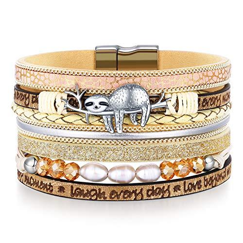 Sloth Wrap Bracelets