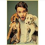 ARTMERLOD Vintage Poster One Direction Mitglied Liam Payne