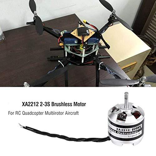Bürstenloser EMAX XA2212 820KV / 980KV / 1400KV 2-3S Brushless Motor für RC Drone Quadrocopter Multi-Rotor Aircraft Zubehörteile( 820KV)