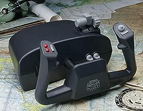 CH Products Flight Sim Yoke USB ( 200-615 ), Black