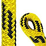 Pelican Arborist- 24Strand 11 mm (1/2 inch) Arborist Climbing Rope - 7000 lbs Breaking Strength -Static Climbing Rope Used for Rescue Operations+Tree Pulling + Tree Cutting