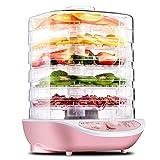 HHuin Deshidratador de Alimentos, Frutas, Verduras, Hierbas, Carne, máquina de Secado, Aperitivos para Mascotas, secador de...
