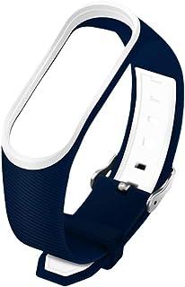 UKCOCO Bande de Montre Compatible pour xiaomi Band 3/4 - Bracelet en Silicone Bracelet de Montre Compatible avec mi Band 3...