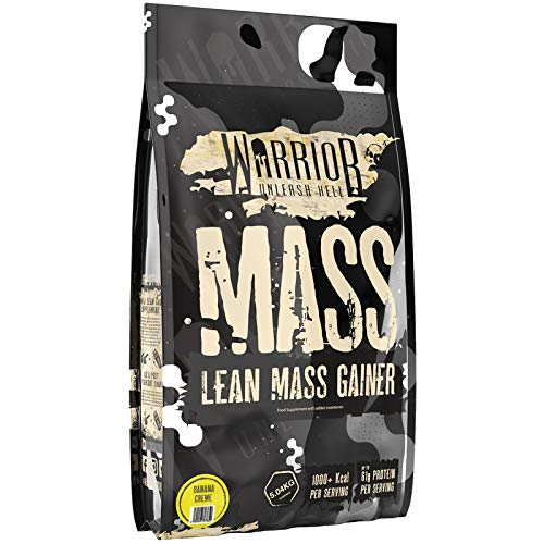 Warrior Mass - Lean Muscle Weight Gainer, 5kg, Banana C