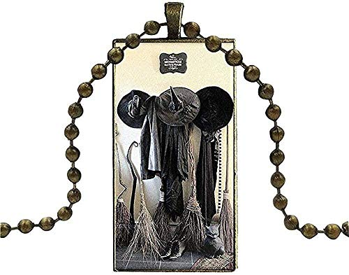 Collar de Cristal con Colgante de cabujón, Collar Rectangular para Hombres y Mujeres, Regalo