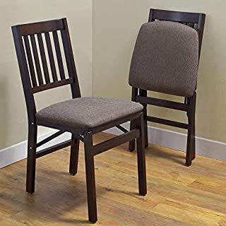 Stakmore Solid Wood Folding Chair, (2 Pack)